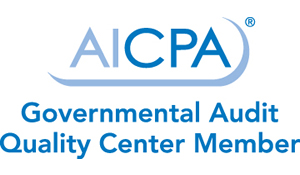 AICPA Governmental Audit Quality Center Member